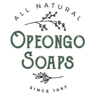 2 Sprig of plants. Opeongo Soaps logo