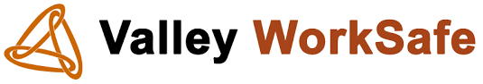 3 Intertwined circles. Valley WorkSafe logo