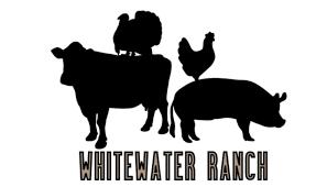 Turkey standing on cow, chicken standing on pig