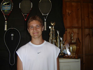 <b>Dominic Stelmach - Stelmach Tennis Services - 2008</b><br />Dominic offered a variety of services he did  everything from selling snacks and cold drinks, managing the tennis club, stringing rackets to giving tennis lessons.