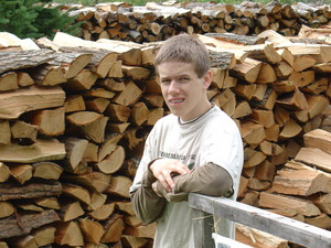 <b>Brandon Janke - Janke Firewood - 2004</b><br />Brandon provided dry homeheating firewood to his clients.
