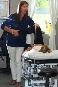 <b>Jaime Smith: PhysioFit Pembroke</b><br />PhysioFit Pemboke: specializes in private physiotherapy