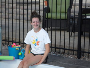 <b>Mikaela Barnes: Splash Summer Swim Program 2011</b><br />Mikaela offers Red Cross individual swimming lessons in a private pool to young children.