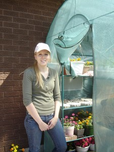 <b>Kayla Janke: Kayla Janke Enterprises 2009</b><br />Kayla offers handmade stepping-stones, picnic tables and children sized picnic tables.Kayla also sells potted flowers and all items are available at the local farmers market.
