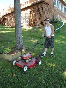 <b>Ryan Lennie: Lennie's Landscaping 2011</b><br />Ryan offers to give you time by providing total lawn care for your summer home and cottage.