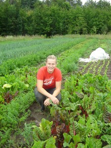 <b>Annise Dobson: The Root Seller 2010</b><br />Annise grew produce and sold her products at the Landsdowne Farmers Market