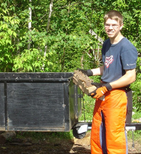 <b>Kris Tiedemann: Kris's Firewood 2010</b><br />Kris provided firewood cut to order for home heating.