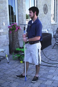 <b>Window Brothers - Mitchell Ray</b><br />Mitchell opened a business that offered window washing service along with washing decks, cars and driveways.